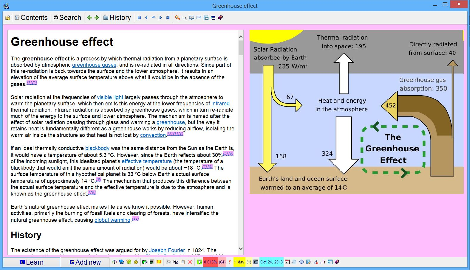 Supermemo Incremental Learning 16 Ofmy Knowledge From The Above Circuit We Can Easily Determine That A Topic With An Article About Greenhouse Effect Imported Wikipedia